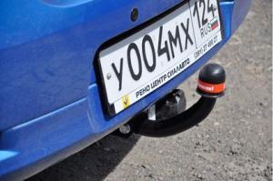 Фаркоп Bosal 1432-A Renault Logan II седан 2014-2019