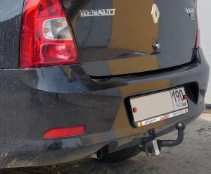 Фаркоп AvtoS RN 12 Renault Logan седан 2005-2014