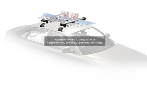 Багажник для лыж и сноубордов Whispbar WB300  Кол-во лыж: 6, Кол-во сноубордов: 4