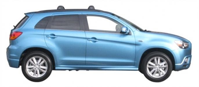 Багажник Whispbar FlushBar для Mitsubishi ASX 2010, 5 Door SUV 2010+ (Flush Rails) c рейлингами