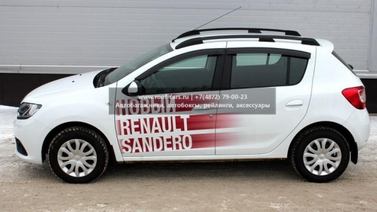 Рейлинги на крышу APS Renault Sandero II 2014+