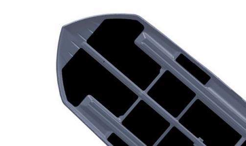 Автомобильный бокс Thule Dynamic 800 (титан) 206x84x34 см 320 литров