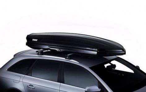 Автомобильный бокс Thule Dynamic (L) 900 (черный) 235x94x35 см 430 литров