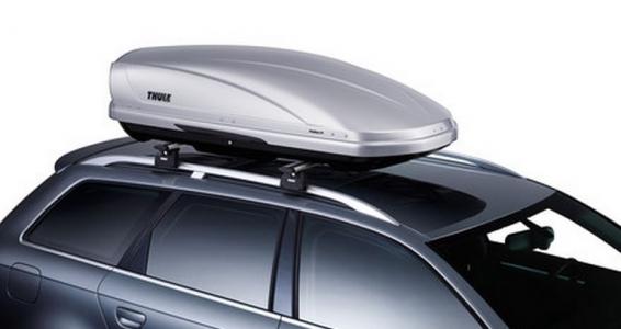 Автомобильный бокс Thule Motion (XL) 800  (серебристый) 205x84x45 см 460 литров