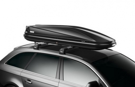 Автомобильный бокс Thule Touring 700 (Touring Alpine) (черный глянец) 232x70x40 см 420 литров