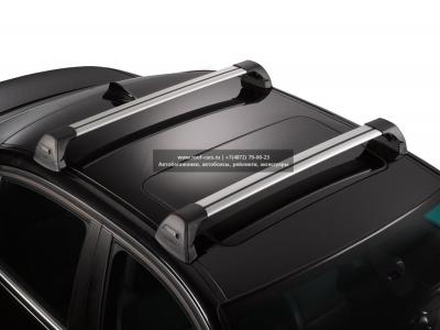 Багажник Whispbar FlushBar  для BMW X3 2013, 5 Door SUV Jan 2010 - 2015 (Flush Rails) c рейлингами