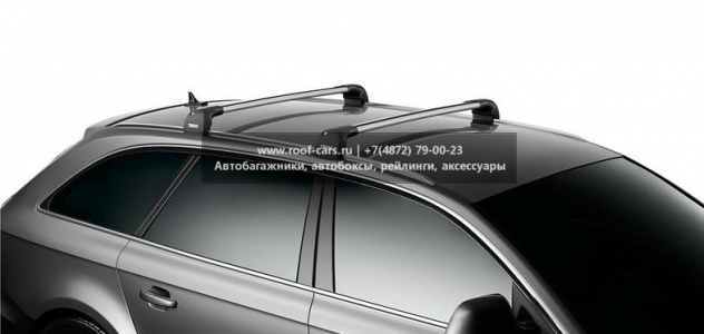 Багажник Thule WingBar Edge 959x OPEL Astra J Sports Tourer, 5 дверный универсал, с низкими рейлингами 2011-...