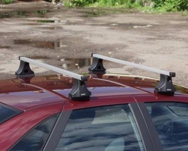 Багажник в сборе ATLANT-Nissan Pathfinder 2005г- с рейлингами--20х30-1100